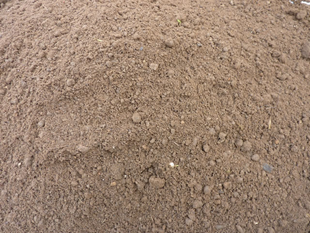 Photo of a unit of top soil.