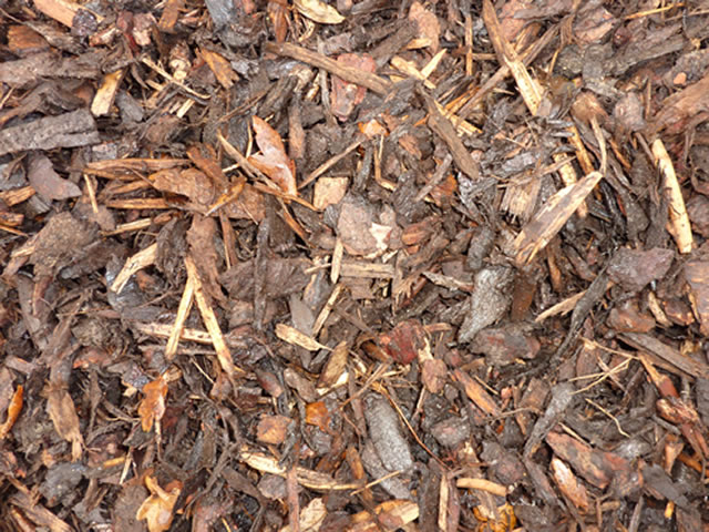 Photo of a unit of bark mulch.